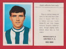 Newcastle United Eric Ross 178